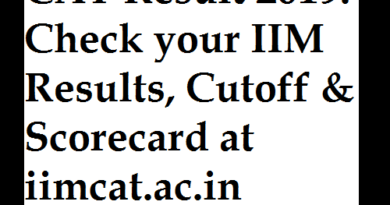 CAT Result 2019 Check your IIM Results, Cutoff & Scorecard