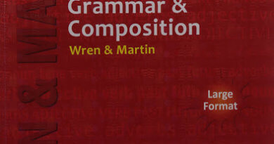 Wren & Martin English Grammar Book pdf