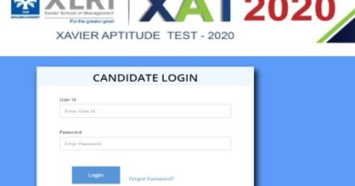 XAT Result 2020 Page